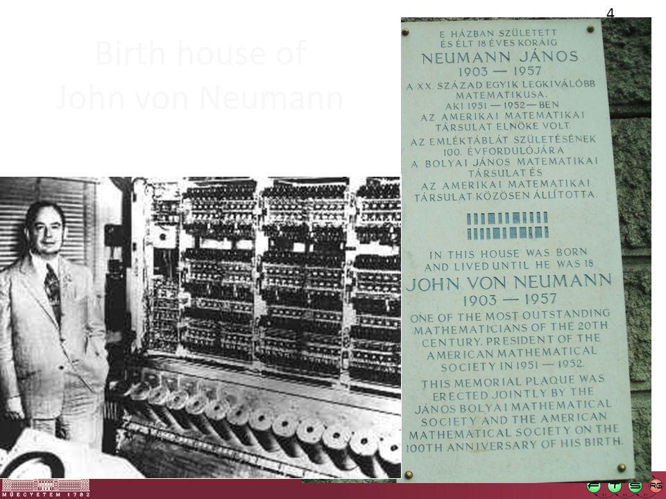4 Birth house of John von Neumann