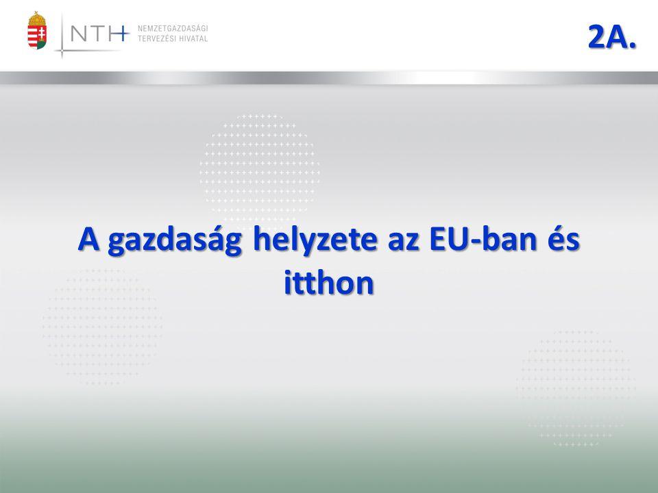 2A. A gazdaság helyzete az EU-ban és itthon