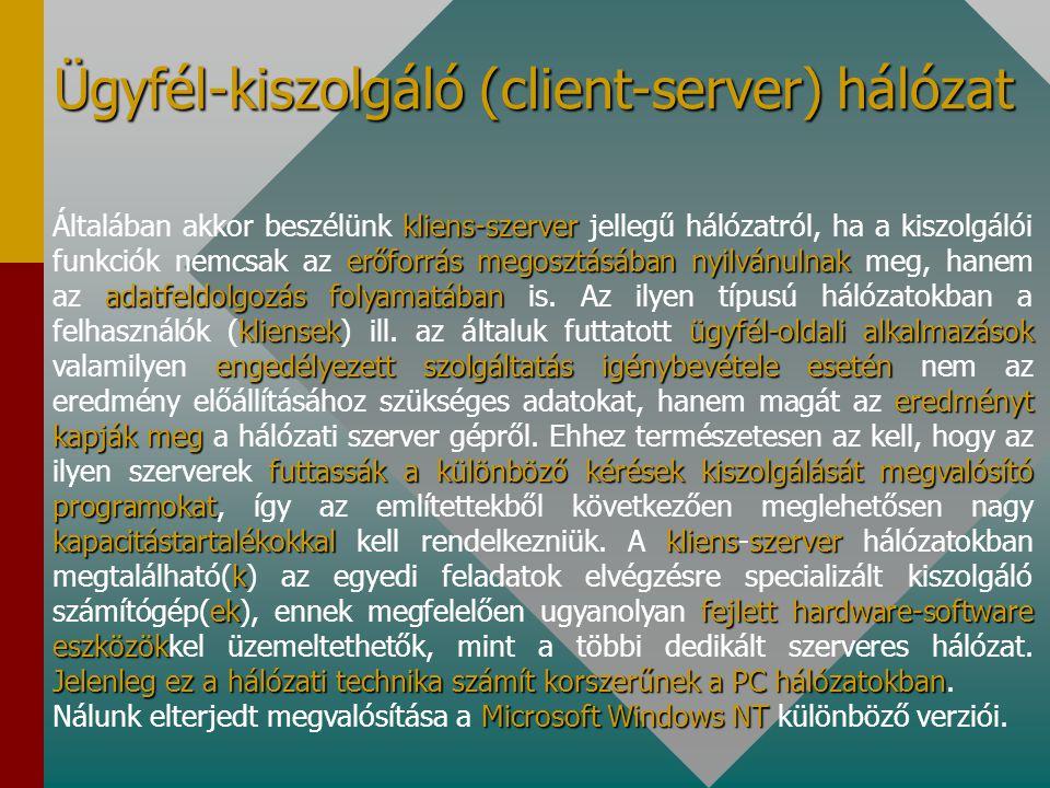 legalább egy olyan gép többigép kiszolgálásával server különleges jogosultságúszemélysupervisorrendszer adminisztrátoruser a neki engedélyezett módon