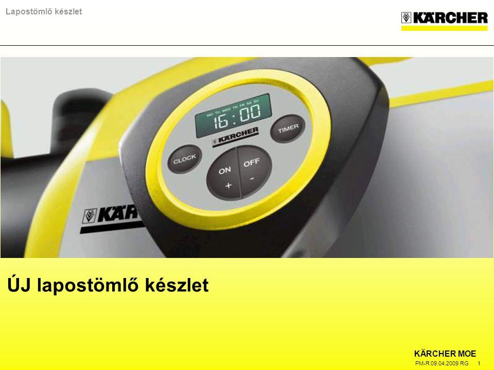 KÄRCHER MOE PM-R 09.04.2009 RG 1 Lapostömlő készlet ÚJ lapostömlő készlet
