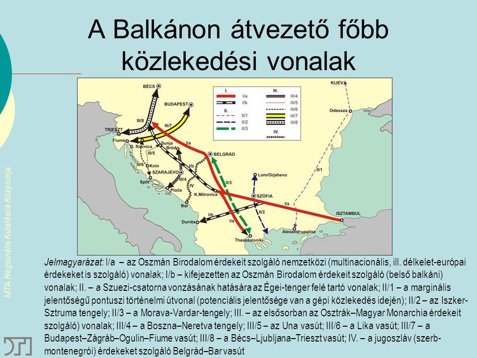 """MTA Regionális Kutatások Központja A korridor végpont kikötők versenye Észak-adriai és fekete-tengeri kikötőcsaládok eltérő rakományszerkezete """"Tengerre magyar – de hol."""