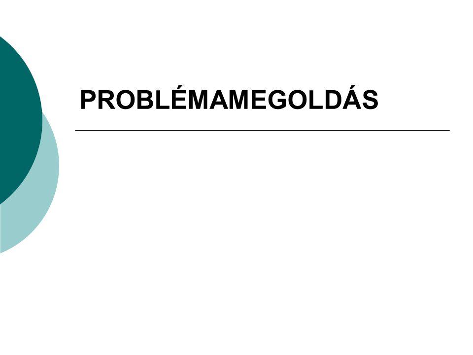 PROBLÉMAMEGOLDÁS12 PROBLÉMAMEGOLDÓ TECHNIKÁK  CSOPORTMUNKA  BRAIN STORMING - ÖTLETBÖRZE  ESETTANULMÁNY
