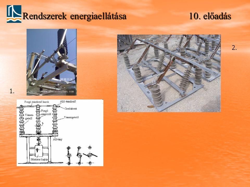Rendszerek energiaellátása 10. előadás 1. 2.