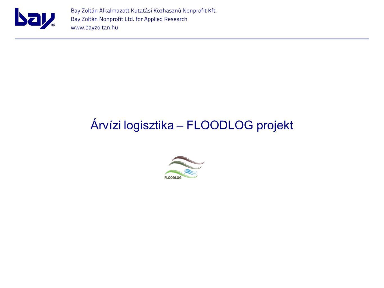 Árvízi logisztika – FLOODLOG projekt
