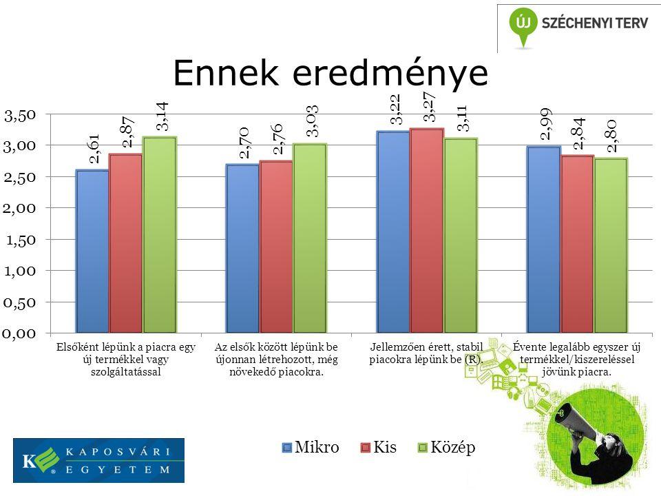 Birtokolt szabadalmak száma vállalati méretkategóriánként Forrás: SMEs-NET Vision paper, 2005 A K+F munkahelyek is egyre nagyobb arányban a nagyvállalati szférához kötődnek.