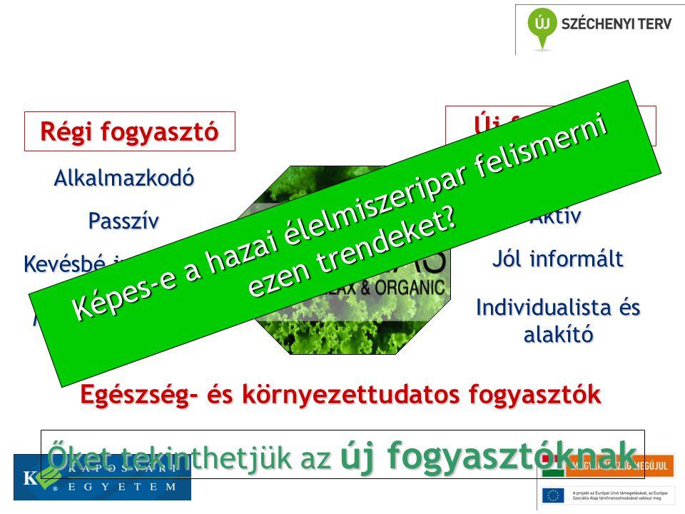 A Medical és Vegetal irány K+F erőforrásigénye Az új fogyasztó igényeinek részletes ismerete Jelentős erőforrások (kutatási, anyagi, humán, marketing) Jelentős termék módosítást és termelési folyamat átalakítást kíván Jelentős K+F kapacitás