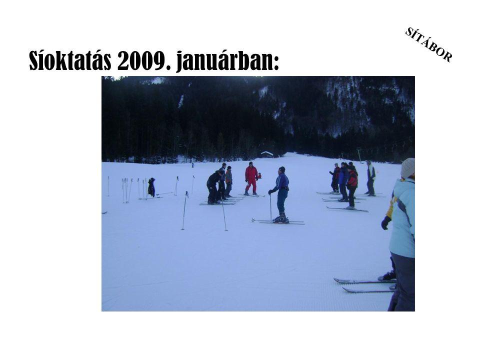 SÍTÁBOR Síoktatás 2009. januárban: