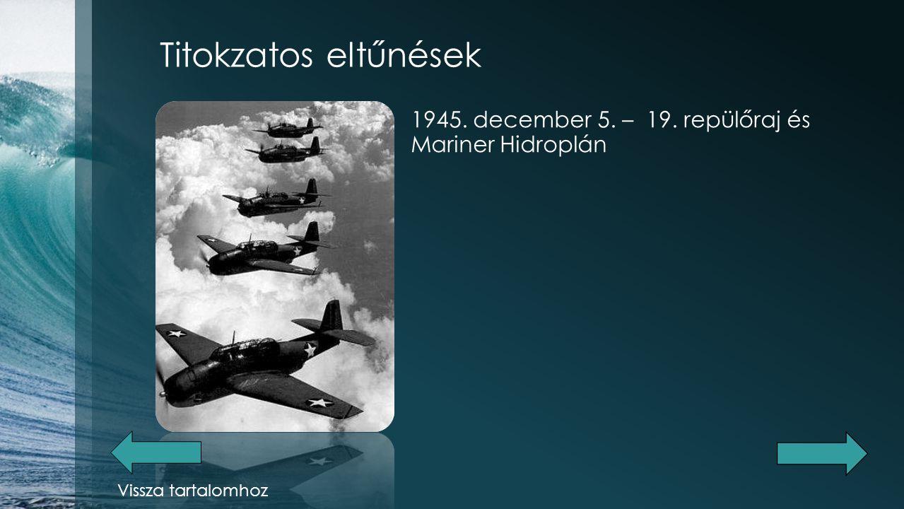 Titokzatos eltűnések 1948.