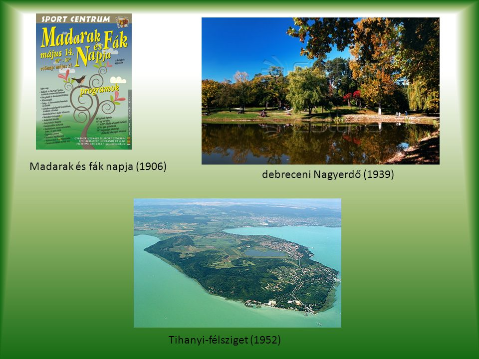 1961-1962 Az 1961 rendelet és az OTH együttesen biztosította: a természetvédelem jogi alapjai és államigazgatási, hatósági szervezetét is.