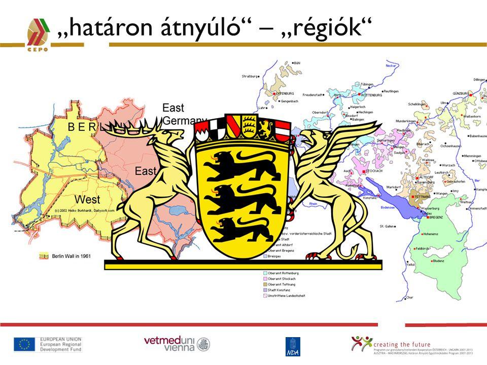 A program jellemzői A program stratégiája Célterület: Ausztria - Magyarország T.