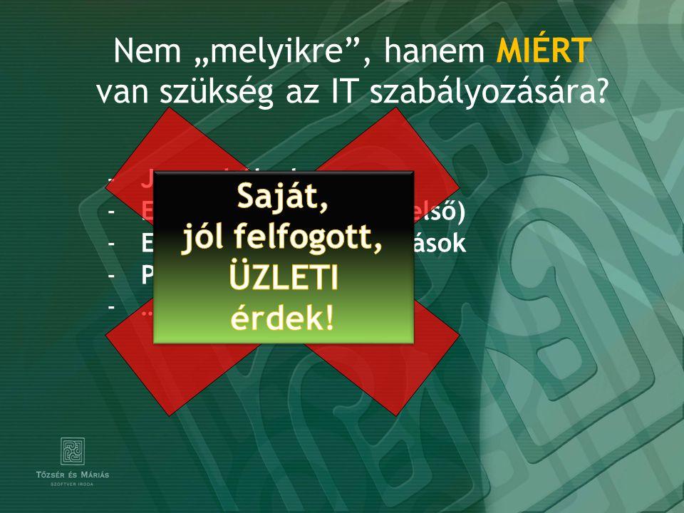Hogyan.Két megközelítés ITIL COBIT MSZ 27001 ISO … Ellopták a notebook-o(ka)t .