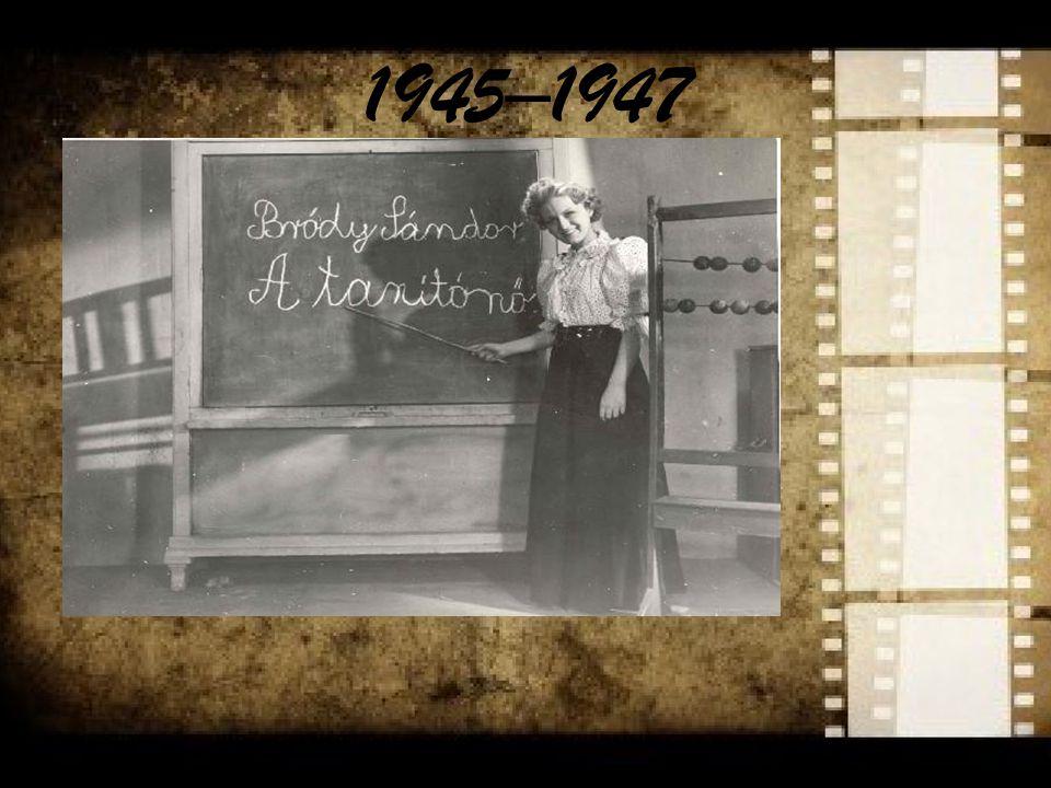 1960–1970 The era s filming was largely influenced by western modernism István Szabó: Álmodozások kora, Szerelmesfilm Miklós Jancsó: Így jöttem, Szegénylegények