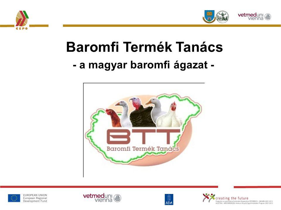 - a magyar baromfi ágazat - Baromfi Termék Tanács