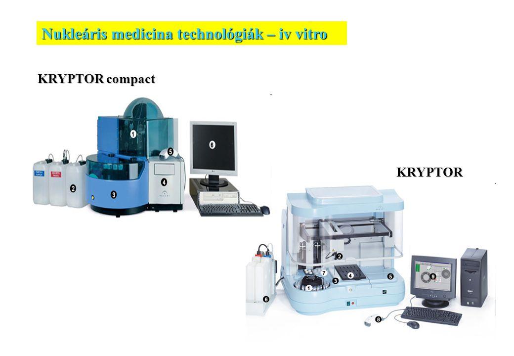 20 KRYPTOR compact KRYPTOR Nukleáris medicina technológiák – iv vitro