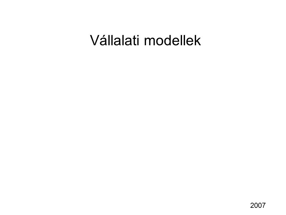 EDM fogalmi/egyed szintjei Fogalom: önálló léttel bíró, tulajdonságokkal rendelkező terület - szemantikai megközelítés - grafikus - lényeg kiemelő - kapcsolat leíró 1:N, N:M, kötelező - tulajdonság leíró kulcs, többértékű, összetett - egyértelmű elnevezés Szabvány adatmodell nyelvet használnak: - EER - UML - ODL dolgozóprojekt