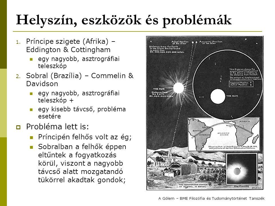 Helyszín, eszközök és problémák 1.