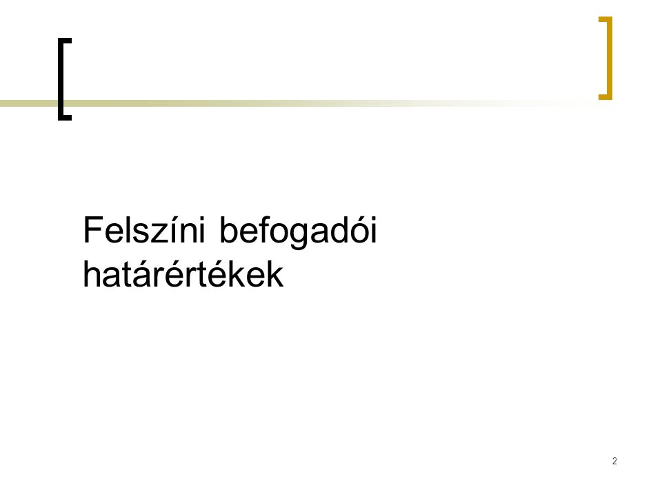 Vízbázis védelem I.(123/1997 Korm. r.