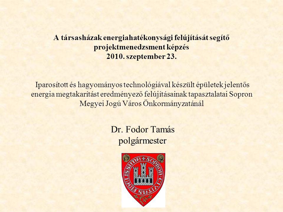 """I.Hazai stratégiák, programok Keretdokumentum: """" Magyarország energiapolitikája 2008-2020 -című stratégia (Korm."""