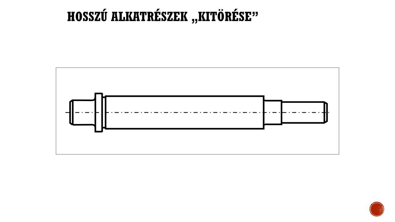 """HOSSZÚ ALKATRÉSZEK """"KITÖRÉSE"""