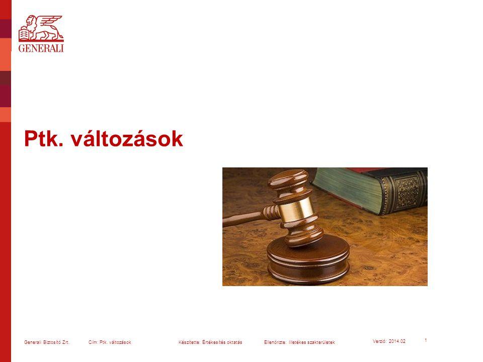Vezető Tisztségviselők Felelősségbiztosítása (D&O) 92 Generali Biztosító Zrt.