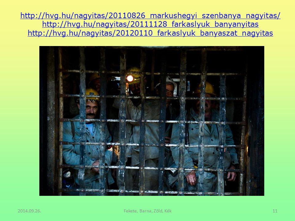 http://hvg.hu/nagyitas/20110826_markushegyi_szenbanya_nagyitas/ http://hvg.hu/nagyitas/20111128_farkaslyuk_banyanyitas http://hvg.hu/nagyitas/20120110