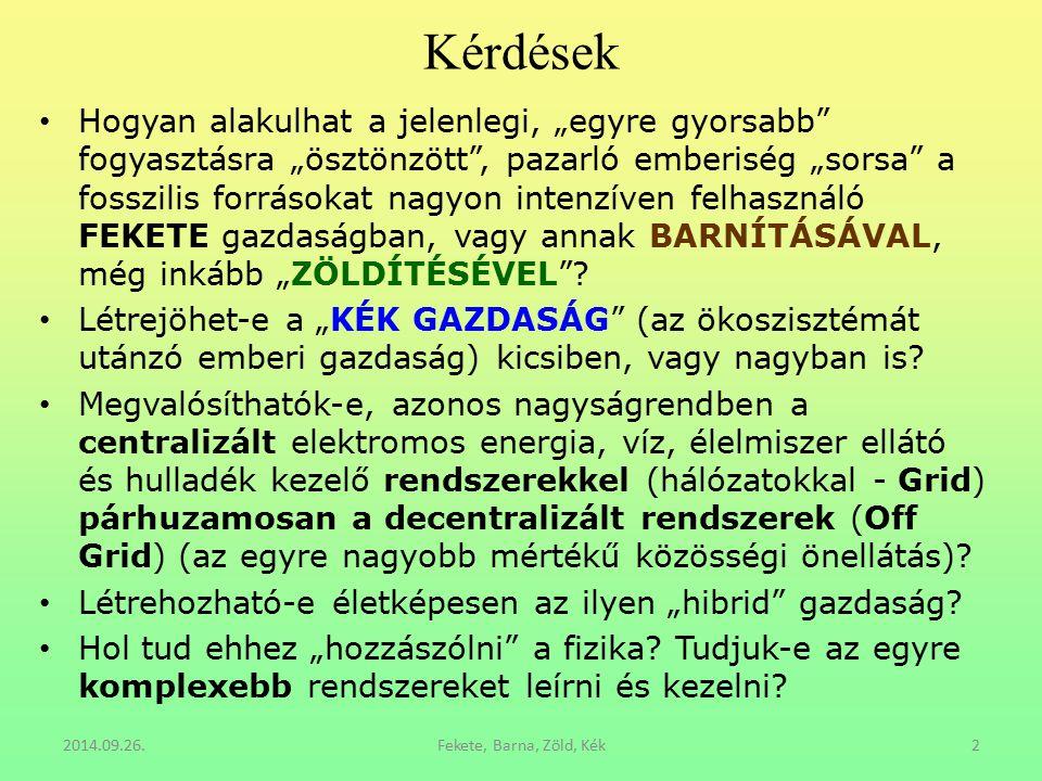 Megújuló energia felhasználás - exHydro 2014.09.26.Fekete, Barna, Zöld, Kék53