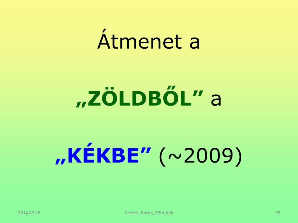 """Átmenet a """"ZÖLDBŐL"""" a """"KÉKBE"""" (~2009) 2014.09.26.Fekete, Barna, Zöld, Kék63"""