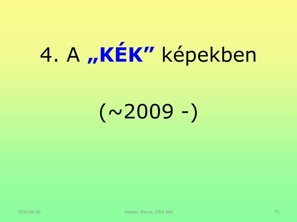 """4. A """"KÉK"""" képekben (~2009 -) 2014.09.26.Fekete, Barna, Zöld, Kék71"""