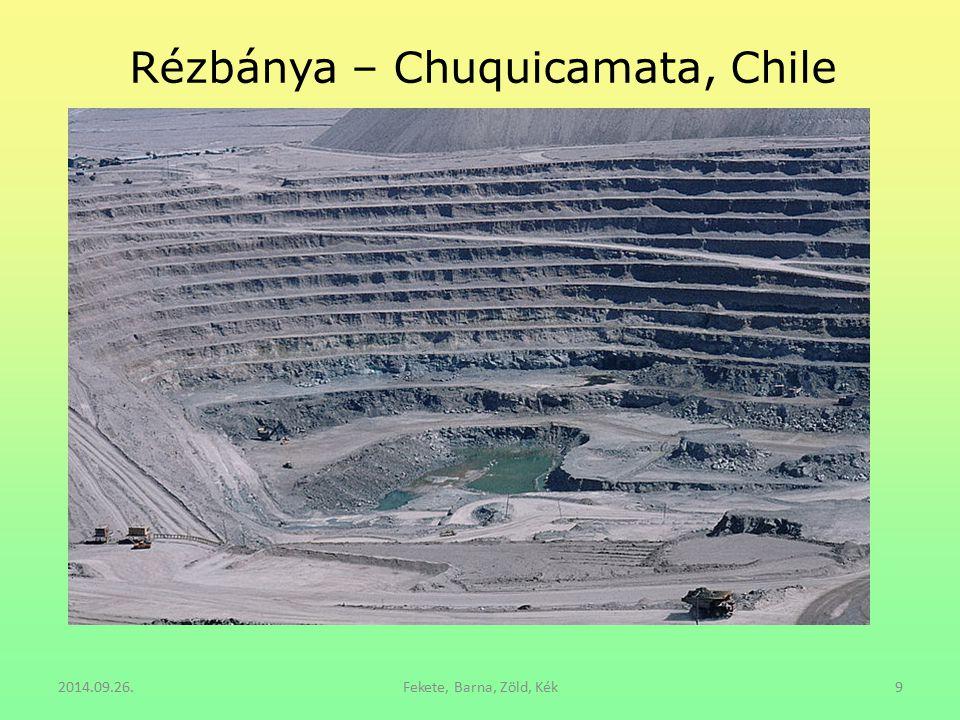 2014.09.26.Fekete, Barna, Zöld, Kék9 Rézbánya – Chuquicamata, Chile