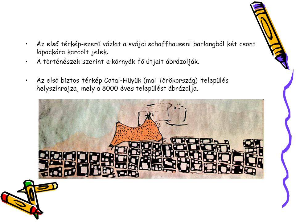 Catal-Hüyük eredeti térképe