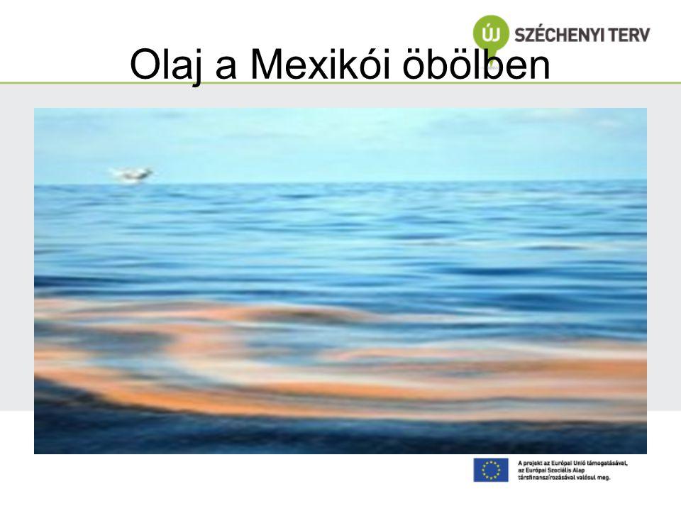 Olaj a Mexikói öbölben