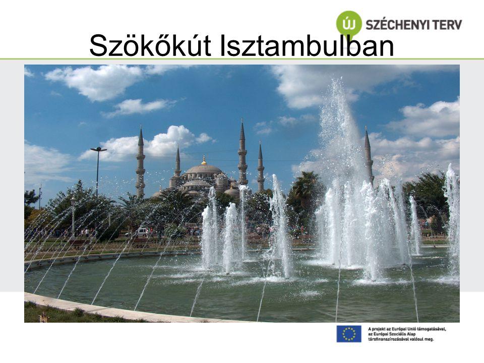 Szökőkút Isztambulban