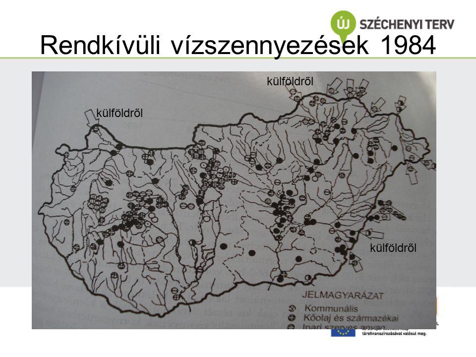 Rendkívüli vízszennyezések 1984 külföldről