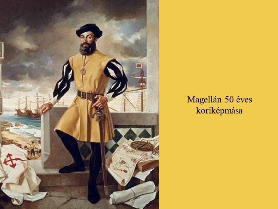 A nagy földrajzi felfedesések befejező akkordjaként következett a Föld első körbehajózása, amely a portugál Fernão de Magalhães (magyarosan Magellán F