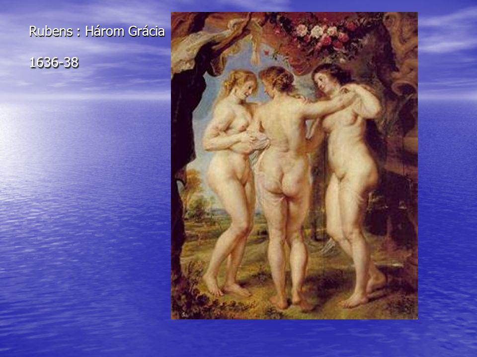 Rubens : Három Grácia 1636-38