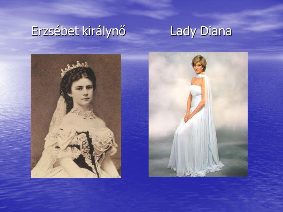 Erzsébet királynő Lady Diana Erzsébet királynő Lady Diana