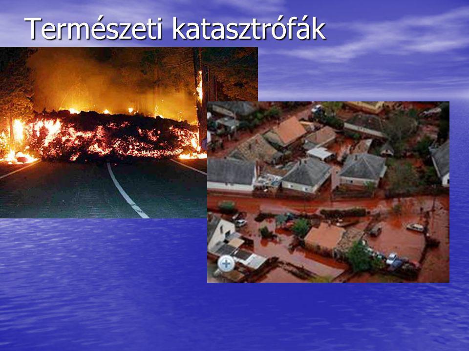 Természeti katasztrófák