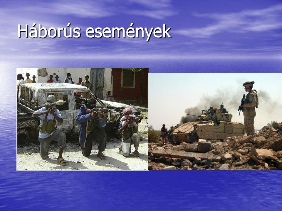 Háborús események
