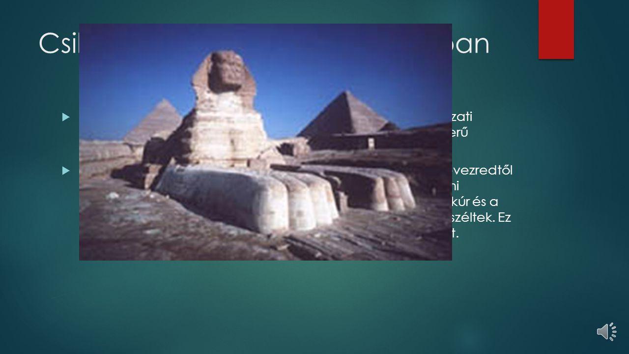 Csillagászat az ókori Egyiptomban  Az ókori Egyiptomban alkalmazták az első komoly csillagászati műszereket: nap- és vízórákat, bemetszett pálcákat, egyszerű szögmérő eszközöket és a függőónt  Az égitesteket gömb alakúnak tekintették, majd a Kr.