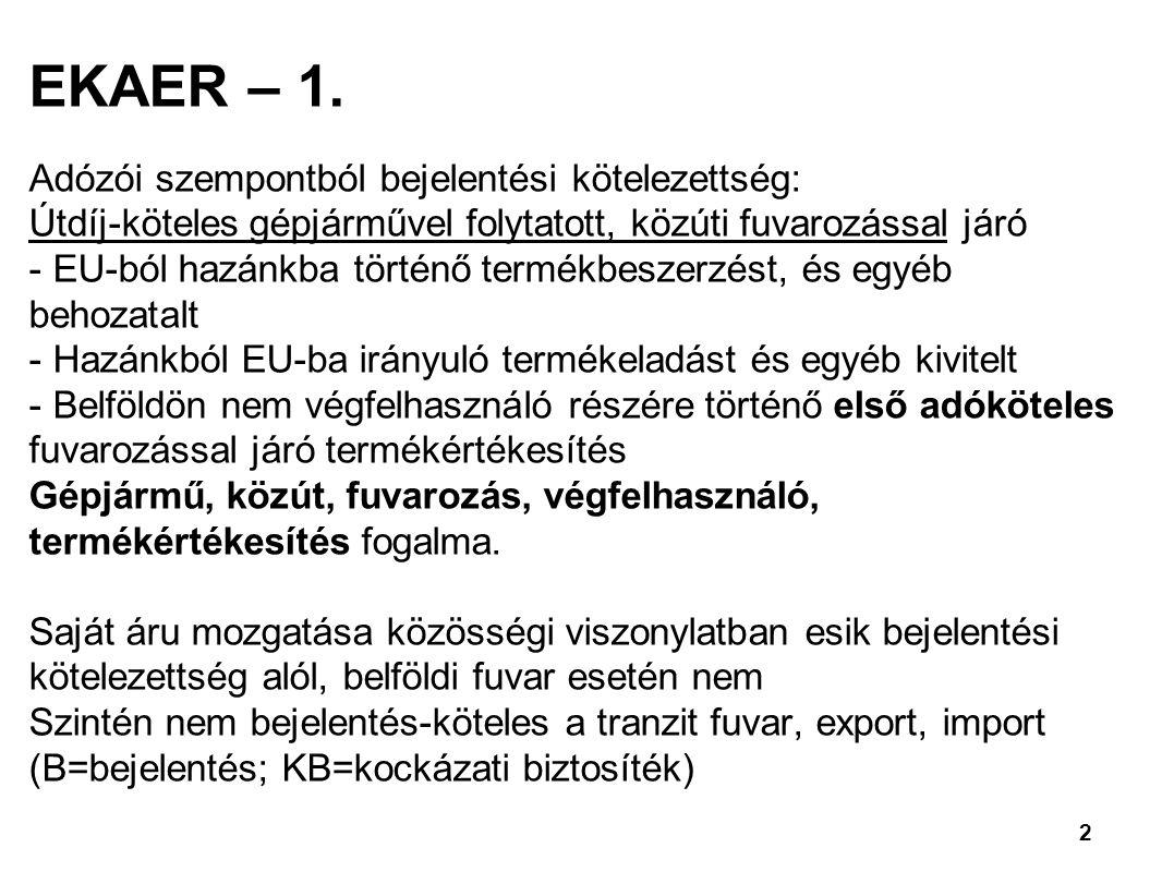 2 EKAER – 1.