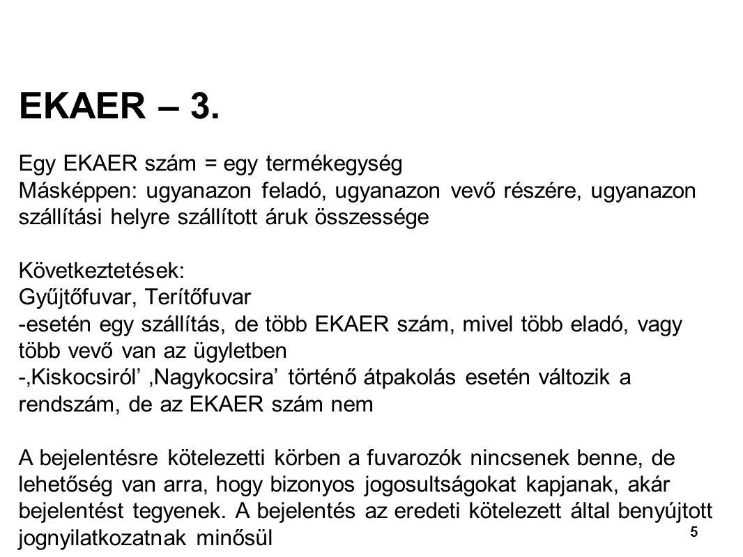 5 EKAER – 3.