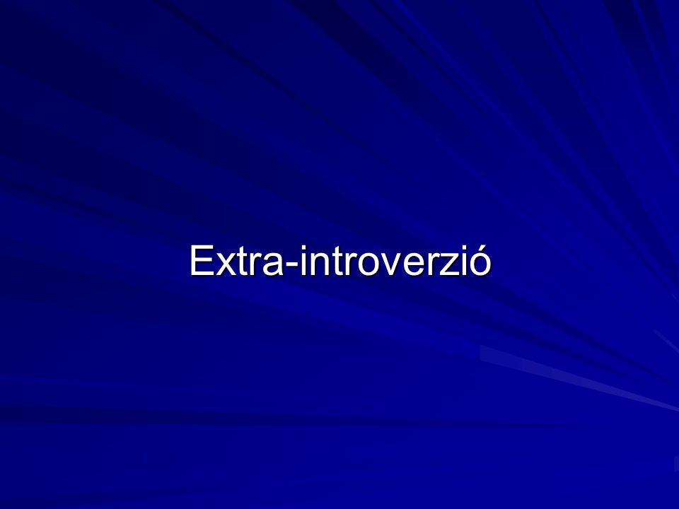 """Eysenck elképzelése az extro- introverzióról Az """"Eysenck démon A kérgi arousal szerepe"""