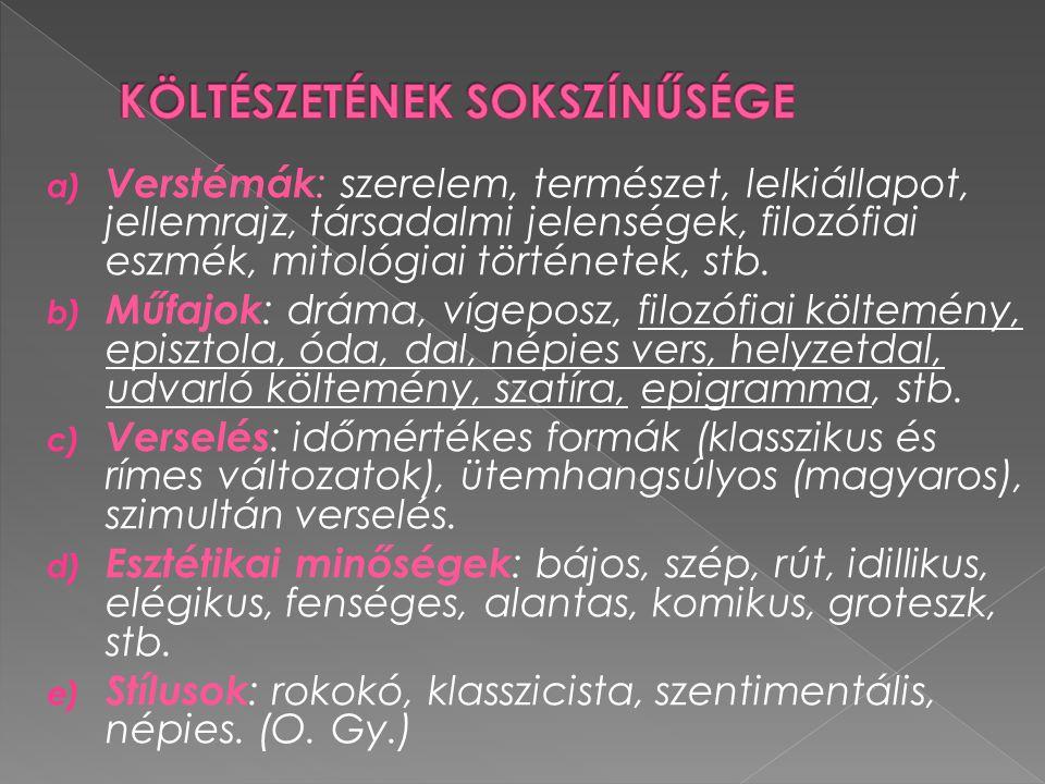  Az olasz canzone és a német lied zeneiségének hatása;  Időmértékes metrumra (ionicus minore: uu - - ritmusára) rájátssza a magyar hangsúlyos ritmust (4/4-es nyolcasok, illetve 4/3-as hetes sorok váltakozása);  A lány szépségét leíró érzékletes képek rokokó hatásúak;  Rokokó elemek: bájos, idillikus hangulat, miniatűr képek, csilingelő rímjáték, zeneiség, gyakoriak a virág motívumok, antik istenek szerepeltetése; A LILLA – VERSEK Kötetbe a költő rendezte, de életében kiadni már nem tudta.
