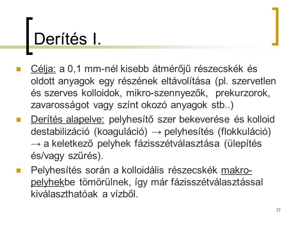 37 Derítés I.