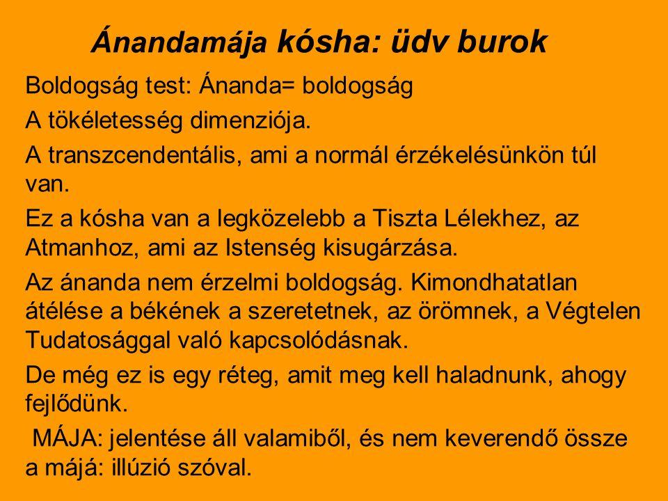 Az Ánandamája kósa 3.
