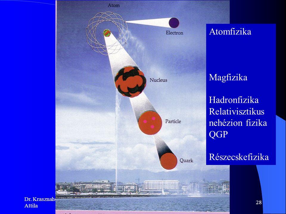 Dr. Krasznahorkay Attila Magfizika27 UNILAC SIS FRS ESR SIS 100/300 HESR Super FRS NESR CR RESR F ő kutatási területek 100 m Hadronfizika antiprotonok