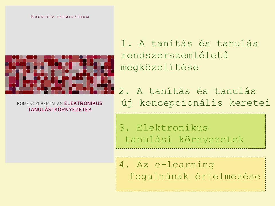 1. A tanítás és tanulás rendszerszemléletű megközelítése 2.