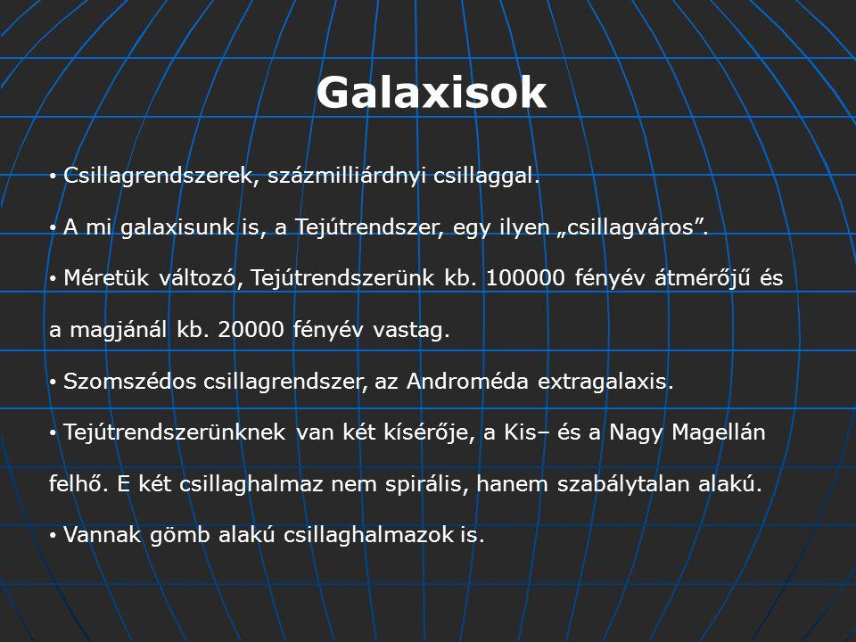 A meteorok ( hullócsillagok ) különböző tömegű (a grammtól a több száz tonnáig), a Nap körül keringő égitestek, amelyeknek a pályája gyakran keresztezheti a Föld pályáját.