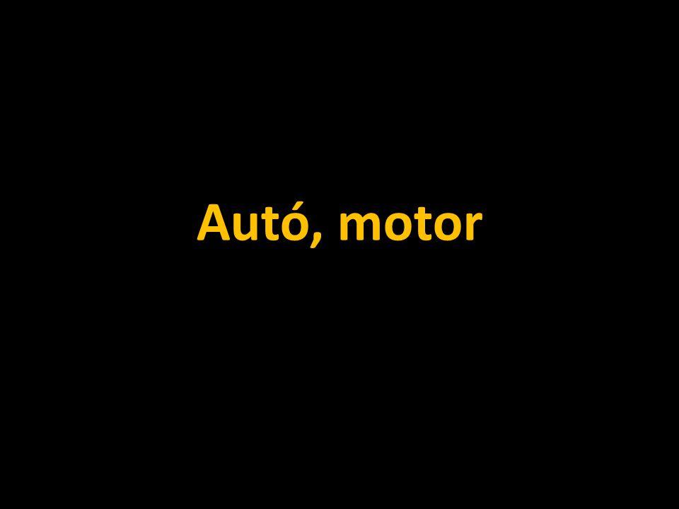 Autó, motor