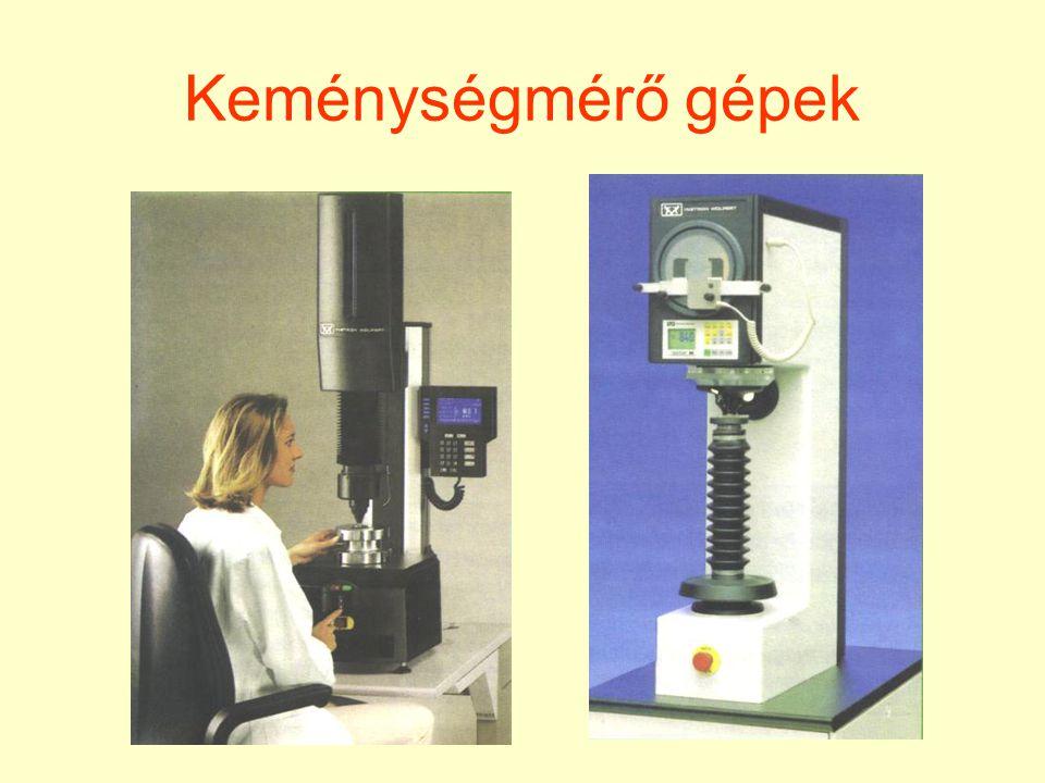 Keménységmérő gépek